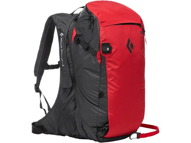Black Diamond Jetforce Pro Avalanche Backpack 35l Red